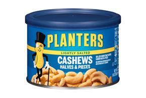 PLANTERS® Lightly Salted Cashew Halves & Pieces 8 oz