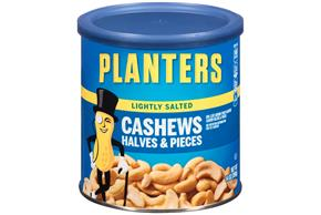 PLANTERS® Lightly Salted Cashew Halves & Pieces 14 oz
