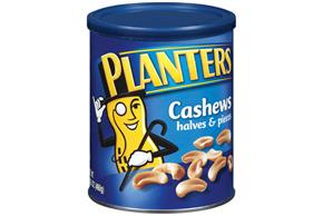 Planters Halves & Pieces Cashews 16.25 Oz Canister