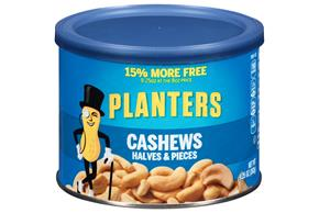 PLANTERS® Cashew Halves & Pieces 9.25 oz