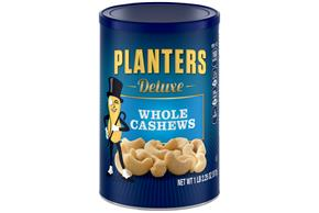 PLANTERS Deluxe Whole Cashews 18.25 oz