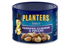 PLANTERS® Select. Cashews, Almonds & Pecans 8.25 oz