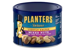 PLANTERS® Lightly Salted Deluxe Mixed Nuts 8.75 oz