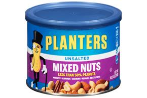 PLANTERS® Unsalted Mixed Nuts 10.3 oz