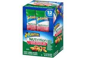 Planters NUT-rition Heart Healthy Mix 12-1.5 oz. Packs
