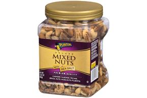 PLANTERS Deluxe Mixed Nuts 34 oz