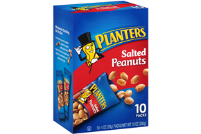 Planters Salted Peanuts 10-1 oz. Packs