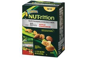 Planters NUT-rition Apple Cinnamon Sustaining Energy Mix 5-1.72 oz. Packs