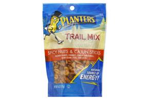 Planters Spicy Nuts Amp Cajun Sticks Trail Mix