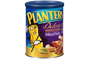 PLANTERS® Lightly Salted Deluxe Mixed Nuts 18.25 oz