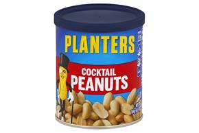 PLANTERS® Cocktail Peanuts with Pure Sea Salt