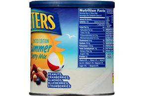 Planters Limited Edition Summer Berry Mix 16.25 oz. Canister