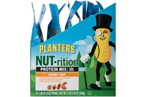 Planters NUT-trition Honey Nut Sustaining Energy Mix 12-1.66 oz. Packs