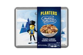 Planters Peanuts, Almonds, Cashews & Pistachios Holiday Collection 17 oz. Tin