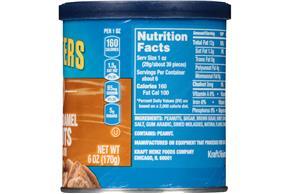 PLANTERS Salted Caramel Peanuts 6 oz