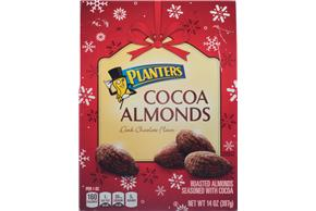 Planters Cocoa Almonds 14 oz. Box