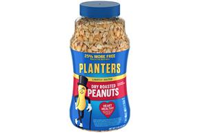 PLANTERS® Lightly Salted Dry Roasted Peanuts 20 oz
