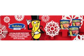 Planters® Holiday Cktil Pnuts/Hny Rst/Swt N' Crny Gift 3Pk