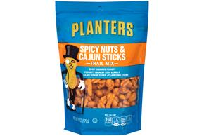 PLANTERS Spicy Nuts & Cajun Sticks Trail Mix 6 oz