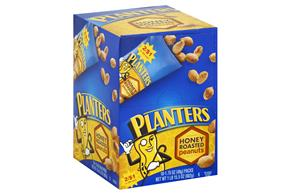 Planters Honey Roasted Peanuts 18-1.75 oz. Packs