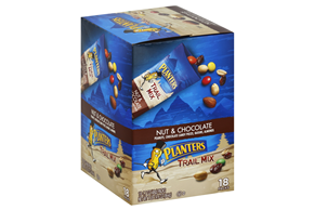 Planters Trail Mix Nut & Chocolate 18 ct, 1.7 oz Tubes