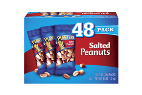 Planters Salted 1 Oz Peanuts 48 Ct Box