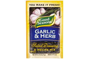 Good Seasons Garlic & Herb Salad Dressing & Recipe Mix .75 Oz Packet
