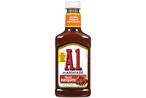A 1 Texas Mesquite Marinade 16 Fl Oz Squeeze Bottle