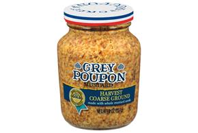 Grey Poupon Harvest Coarse Ground Mustard 8 Oz Jar