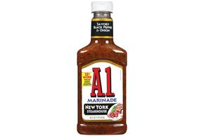A 1 New York Steakhouse Marinade 16 Fl Oz Squeeze Bottle