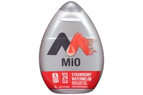 Mio Strawberry Watermelon Liquid Water Enhancer 1.62 Oz Plastic Bottle