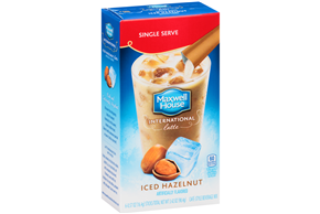 Maxwell House International Hazelnut Iced Latte Single Serve