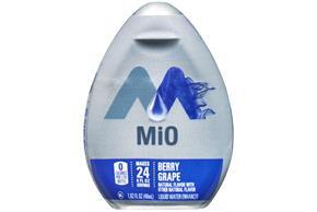 MiO Berry Grape Liquid Water Enhancer 1.62 fl. oz. Bottle