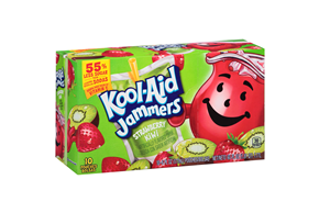 Kool-Aid Jammers Strawberry Kiwi 10-6 fl oz. Pouches