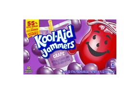 Kool-Aid Jammers Grape 10-6 fl oz. Pouches