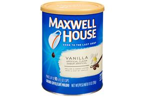 Maxwell House Vanilla Ground Coffee 11 oz. Canister