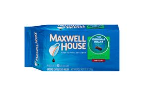 Maxwell House Decaf Original Roast Ground Coffee 11 oz. Brick