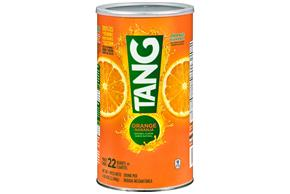 TANG POWDERED SOFT DRINK ORANGE 72 oz Cannister