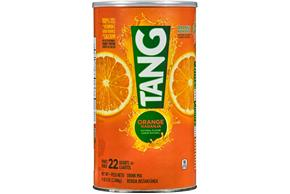 TANG POWDERED SOFT DRINK ORANGE 72 oz Cannister