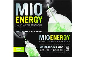 MiO Energy Green Thunder Liquid Water Enhancer 6-1.08 fl. oz. Bottle