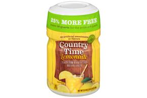 COUNTRY TIME Yellow Lemonade Powdered Soft Drink 23.9 oz. Cannister