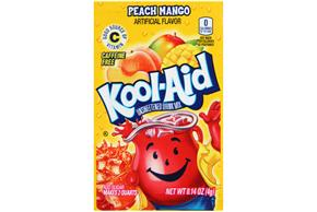 Kool-Aid Peach Mango Drink Mix 0.14 oz. Packet