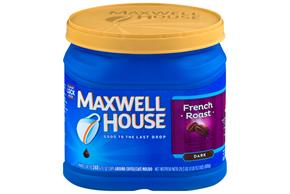 Maxwell House French Roast Ground Coffee 29.3 oz. Canister