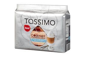 Tassimo Corner Coffeehouse Sweet Vanilla Latte T Discs 8 ct. Espresso & 8 ct. Milk Creamer