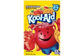 Kool-Aid Peach Mango Drink Mix 4.72 oz. Pouch