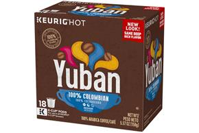 Yuban Gold 100% Colombian Coffee K-Cup® Packs 18 ct Box
