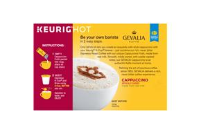 Gervalia Cappuccino 1.41 oz. 6CT Box