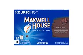 Maxwell House Mocha Coffee K-Cup(R) Packs 12 ct Box