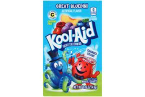 Kool-Aid(R) Great Bluedini Unsweetened Drink Mix 0.16 oz. Packet