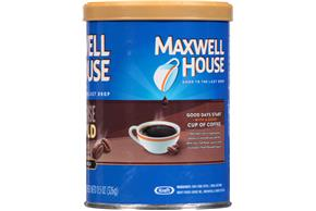 Maxwell House Intense Bold Ground Coffee 11.5 oz. Canister